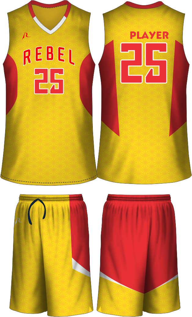 edd0319d0 Custom Basketball Uniforms - Defend The Perimeter - Team Rebel ...